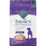 Blue Buffalo Basics Limited Ingredient Formula Turkey & Potato Recipe Adult Dry Dog Food, 24-lb bag