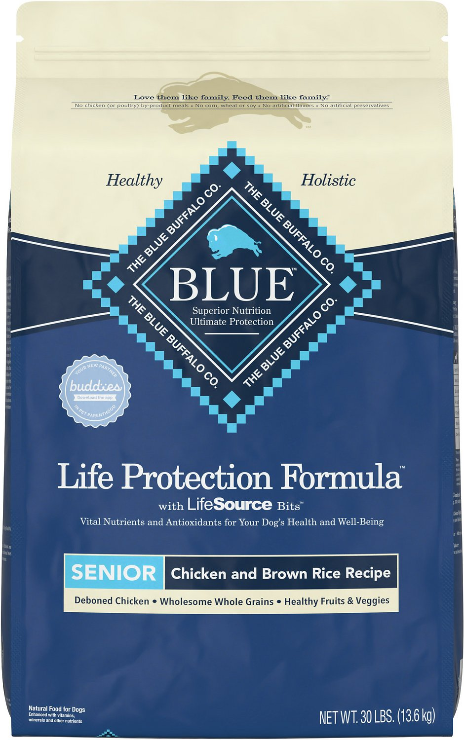 Blue Buffalo Dry Dog Food Life Protection Formula