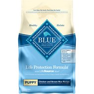 Blue Buffalo Life Protection Formula Puppy Chicken & Brown Rice Recipe Dry Dog Food, 6-lb bag