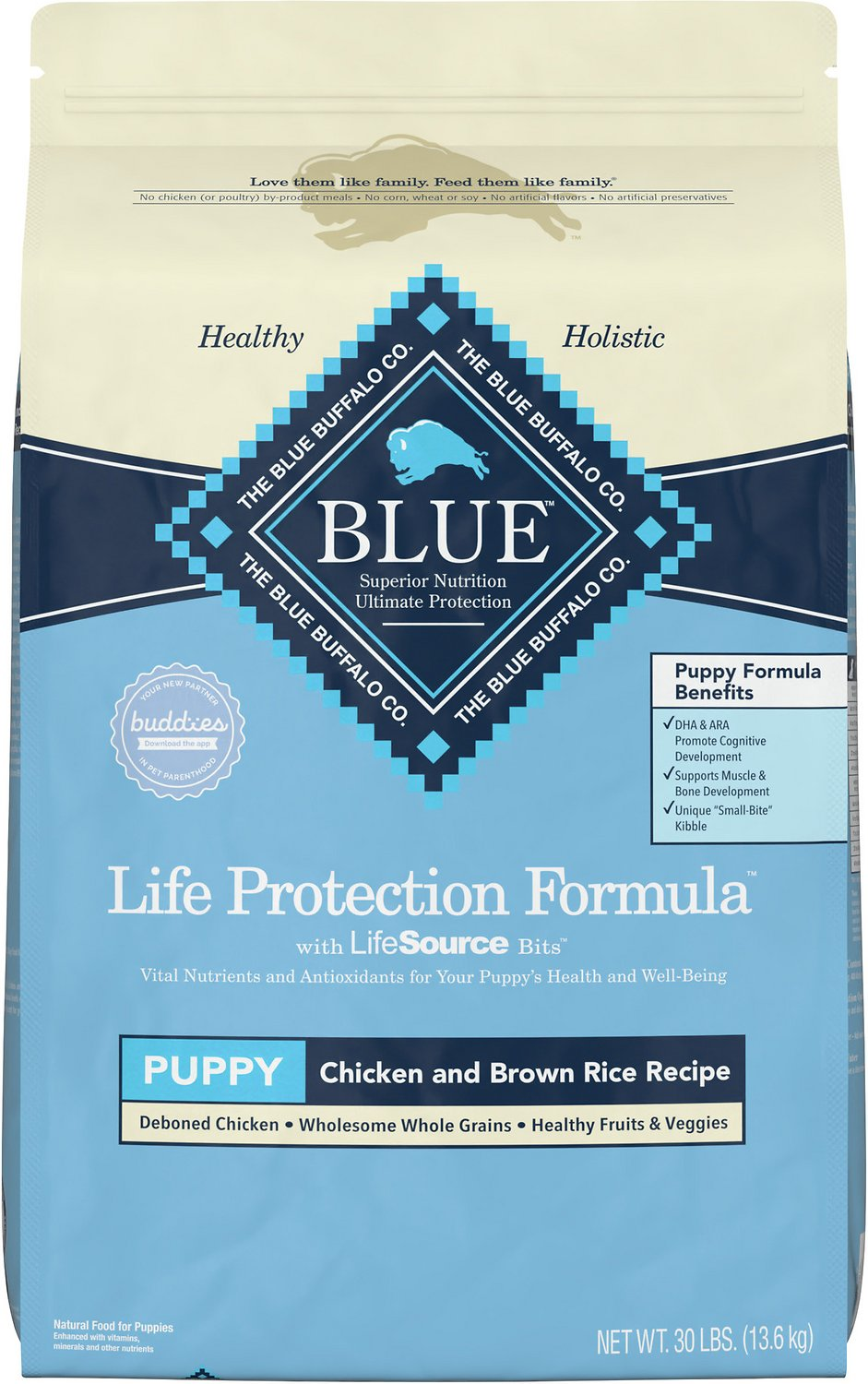 Blue buffalo life protection formula puppy chicken brown rice video forumfinder Image collections