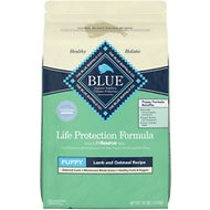 Blue Buffalo Life Protection Formula Puppy Lamb & Oatmeal Recipe Dry Dog Food, 30-lb bag