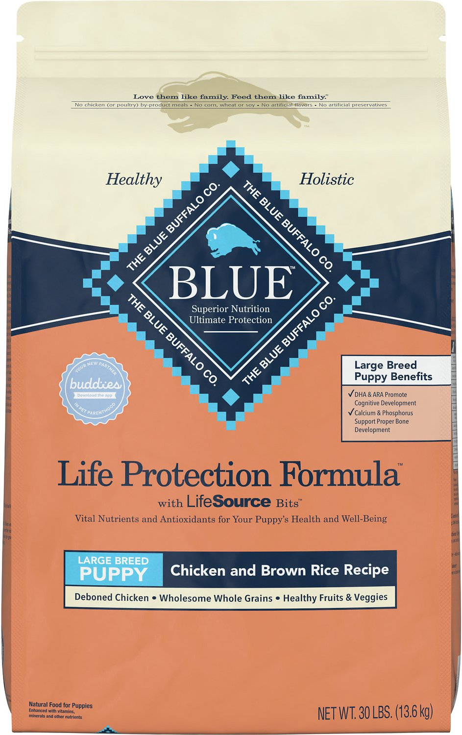 Blue Buffalo Life Protection Formula Large Breed Puppy