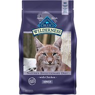 Blue Buffalo Wilderness Chicken Recipe Grain-Free Dry Cat Food, 2.5-lb bag
