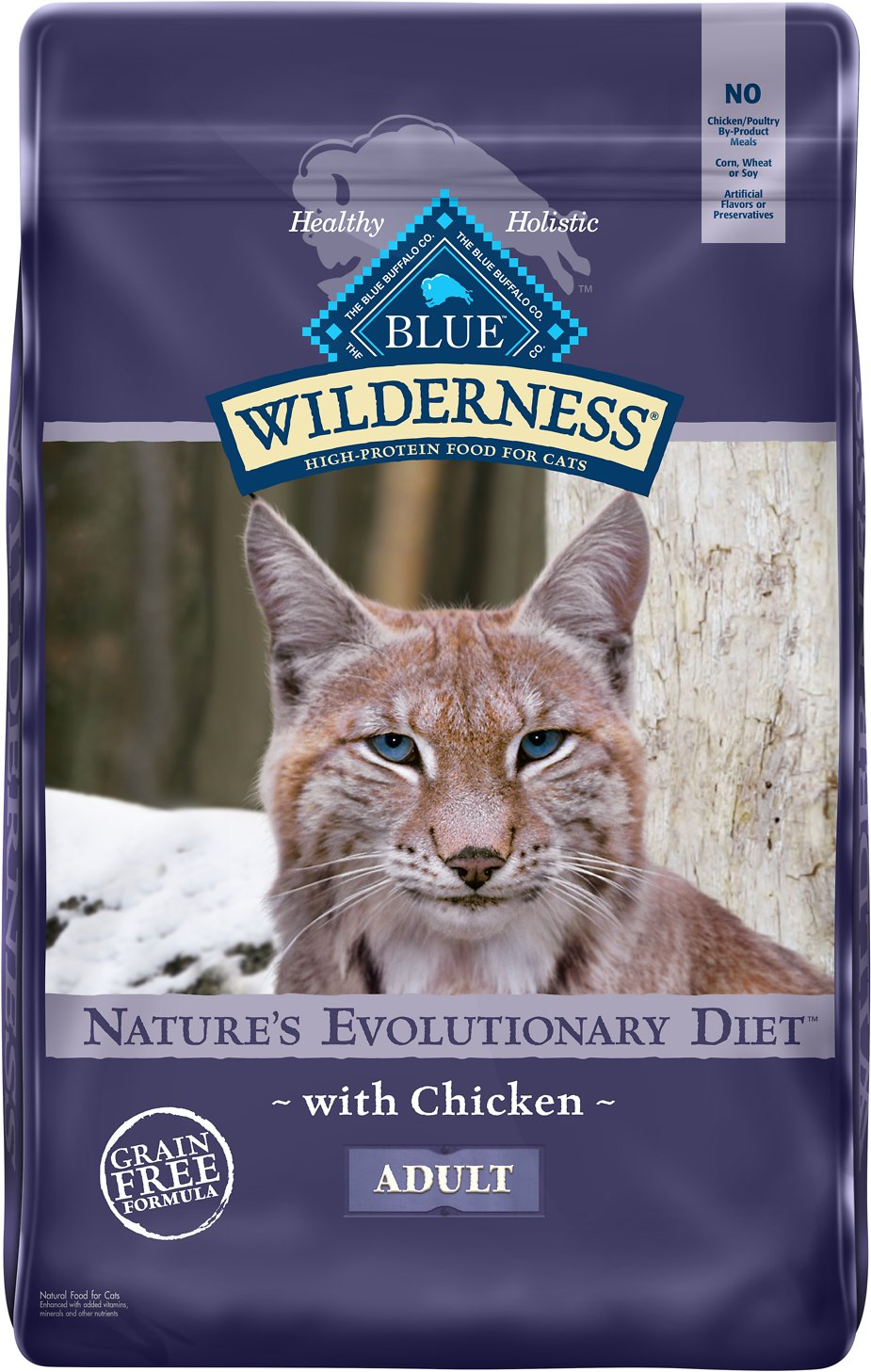 Blue buffalo wilderness chicken recipe grain free dry cat food 12 video forumfinder Images