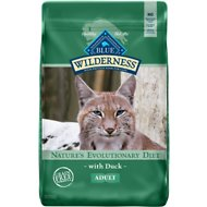 Blue Buffalo Wilderness Duck Recipe Grain-Free Dry Cat Food, 11-lb bag