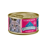 Blue Buffalo Wilderness Salmon Grain-Free Canned Cat Food, 3-oz, case of 24