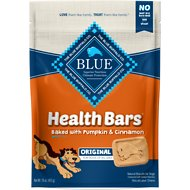 Blue Buffalo Health Bars Baked with Pumpkin & Cinnamon Dog Treats, 16-oz