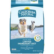 California Natural Adult Limited Ingredient Grain Free Chicken Meal Recipe Dog Food, 13-lb bag