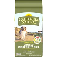 California Natural Adult Limited Ingredient Grain Free Lamb Meal Recipe Dog Food, 4.5-lb bag