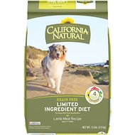 California Natural Adult Limited Ingredient Grain Free Lamb Meal Recipe Dog Food, 13-lb bag