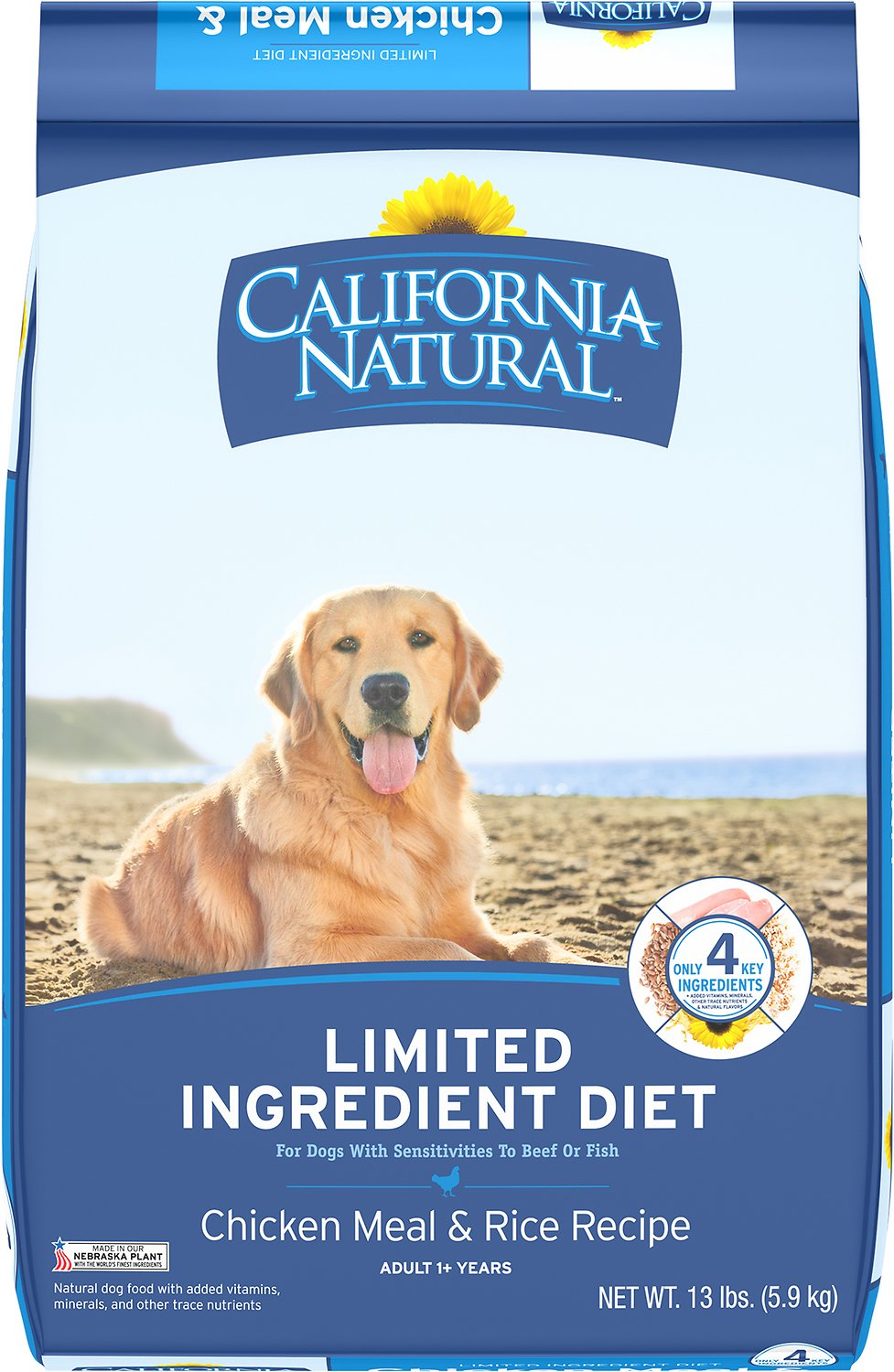 California Natural Chicken Meal And Rice Dog Food