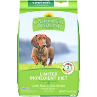 California Natural Adult Limited Ingredient Lamb Meal & Rice Recipe Small Bites Dog Food, 13-lb bag