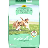 California Natural Puppy Limited Ingredient Lamb Meal & Rice Recipe Dog Food, 26-lb bag