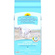 California Natural Puppy Limited Ingredient Chicken Meal & Rice Recipe Puppy Food, 4.5-lb bag