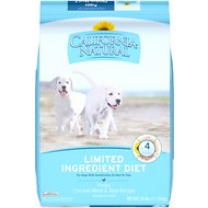 California Natural Puppy Limited Ingredient Chicken Meal & Rice Recipe Puppy Food, 26-lb bag