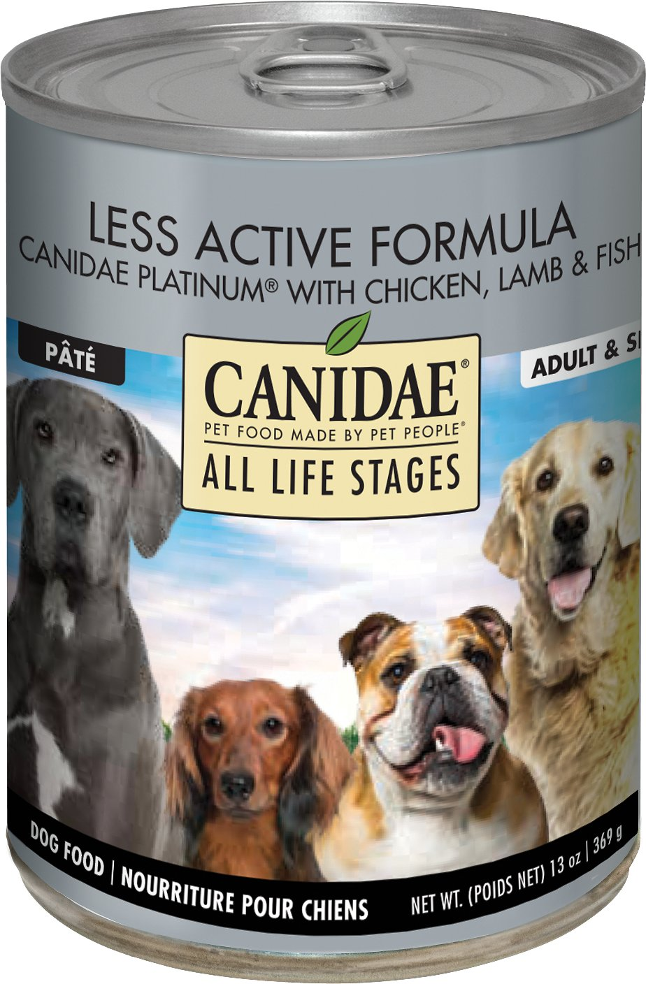 Canidae Platinum Canned Dog Food Reviews