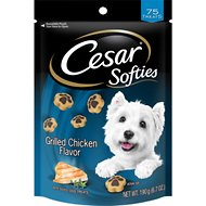 Cesar Softies Grilled Chicken Flavor Dog Treats