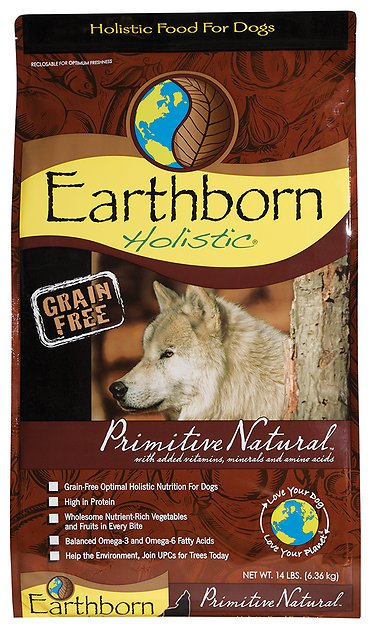 3. Earthborn Holistic Grain-Free Dry Dog Food
