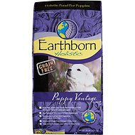 Earthborn Holistic Puppy Vantage Grain-Free Dry Dog Food, 28-lb bag