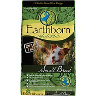 Earthborn Holistic Small Breed Grain-Free Dry Dog Food, 14-lb bag
