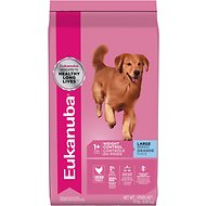 Eukanuba Large Breed Adult Weight Control Chicken Formula Dry Dog Food, 15-lb bag