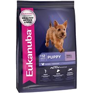 Eukanuba Small Breed Puppy Dry Dog Food, 40-lb bag