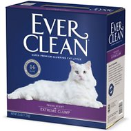 Ever Clean Lightly Scented Extreme Clump Cat Litter, 25-lb box