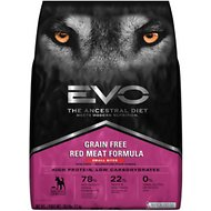 EVO Grain Free Red Meat Formula Small Bites Dry Dog Food, 28.6-lb bag