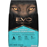 EVO Grain Free Herring & Salmon Formula Cat & Kitten Food, 15.4-lb bag