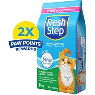 Fresh Step Scented Non-Clumping Clay Cat Litter, 14-lb bag