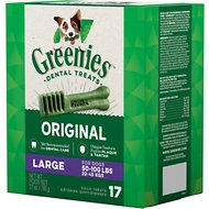 Greenies Large Dental Dog Treats, 17 count