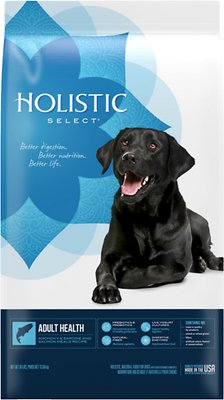 Holistic Select Adult Health Anchovy, Sardine & Salmon Meals Recipe Dry Dog Food