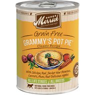 Merrick Grain-Free Grammy's Pot Pie Recipe Canned Dog Food, 13.2-oz, case of 12