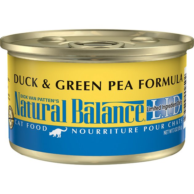 Natural Balance Duck And Pea Canned Cat Food