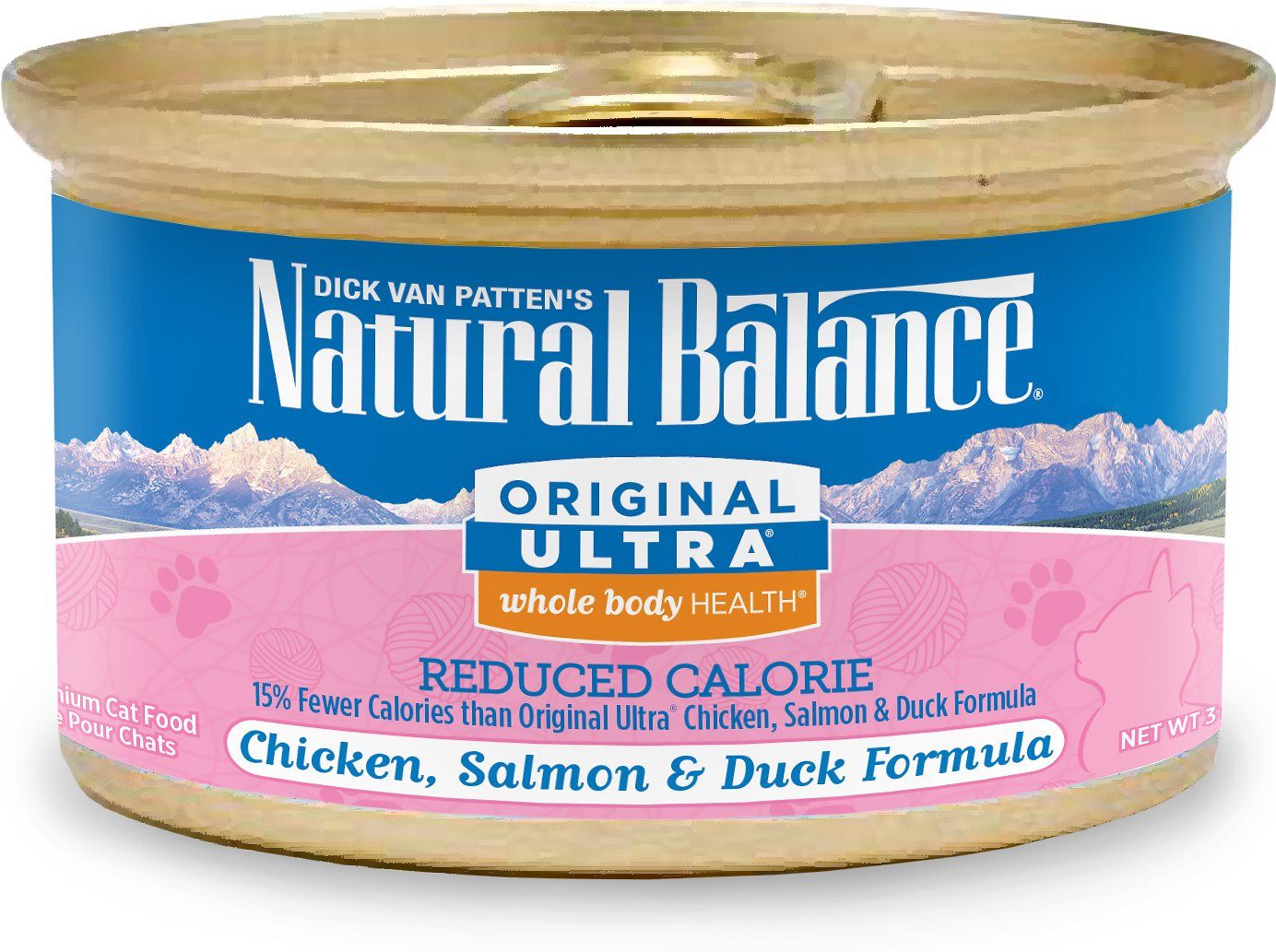 Natural Balance Original Ultra Reduced Calorie Formula Canned Cat Food