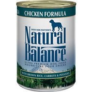 Natural Balance Ultra Premium Chicken Formula Canned Dog Food, 13-oz, case of 12