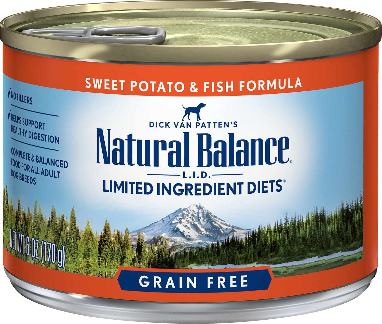 Natural Balance Fish And Sweet Potato Canned Dog Food