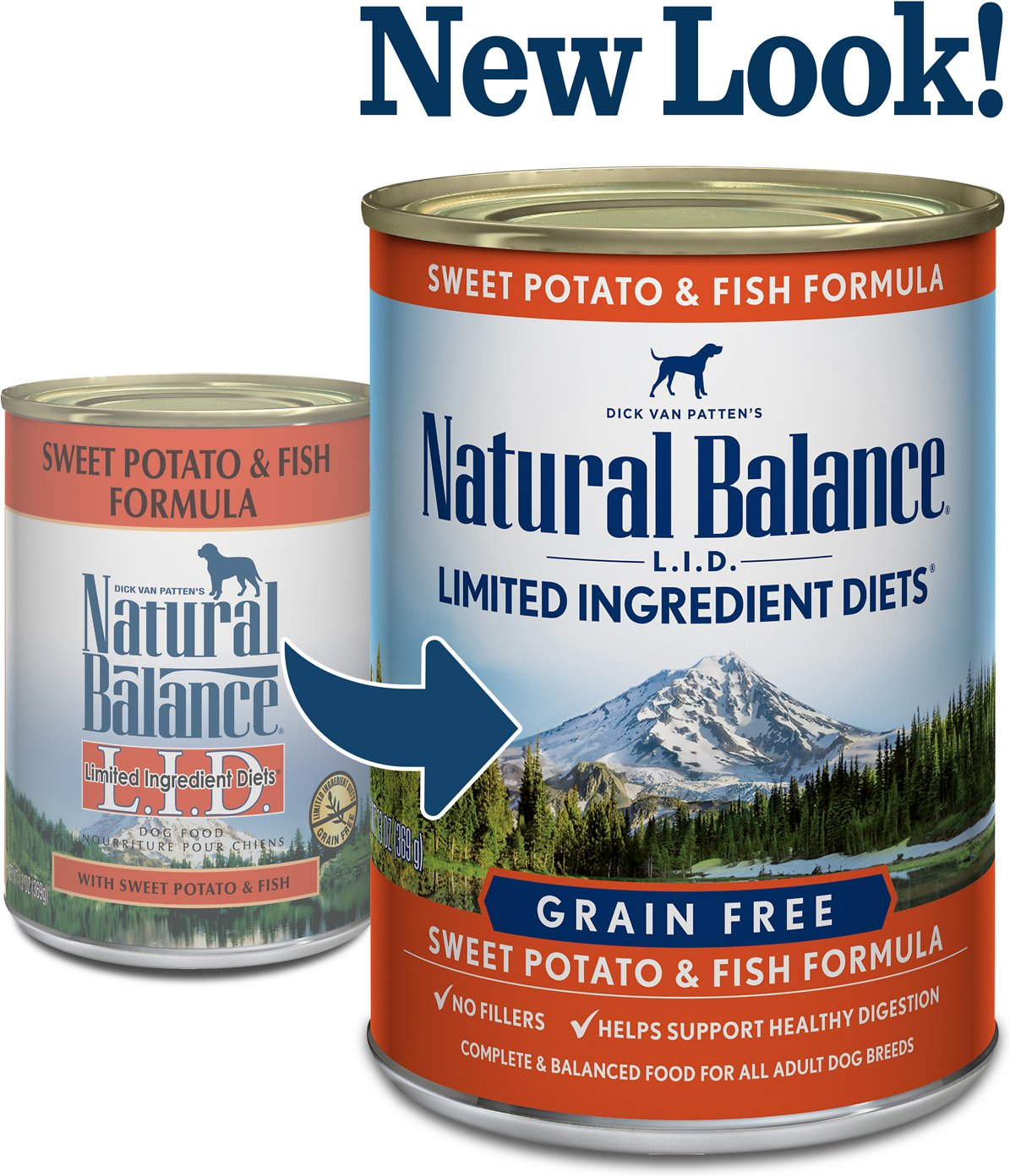 Natural Balance Fish And Sweet Potato Canned