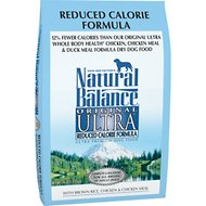 Natural Balance Original Ultra Reduced Calorie Formula Dry Dog Food, 28-lb bag