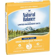 Natural Balance L.I.D. Limited Ingredient Diets Green Pea & Duck Formula Grain-Free Dry Cat Food, 10-lb bag