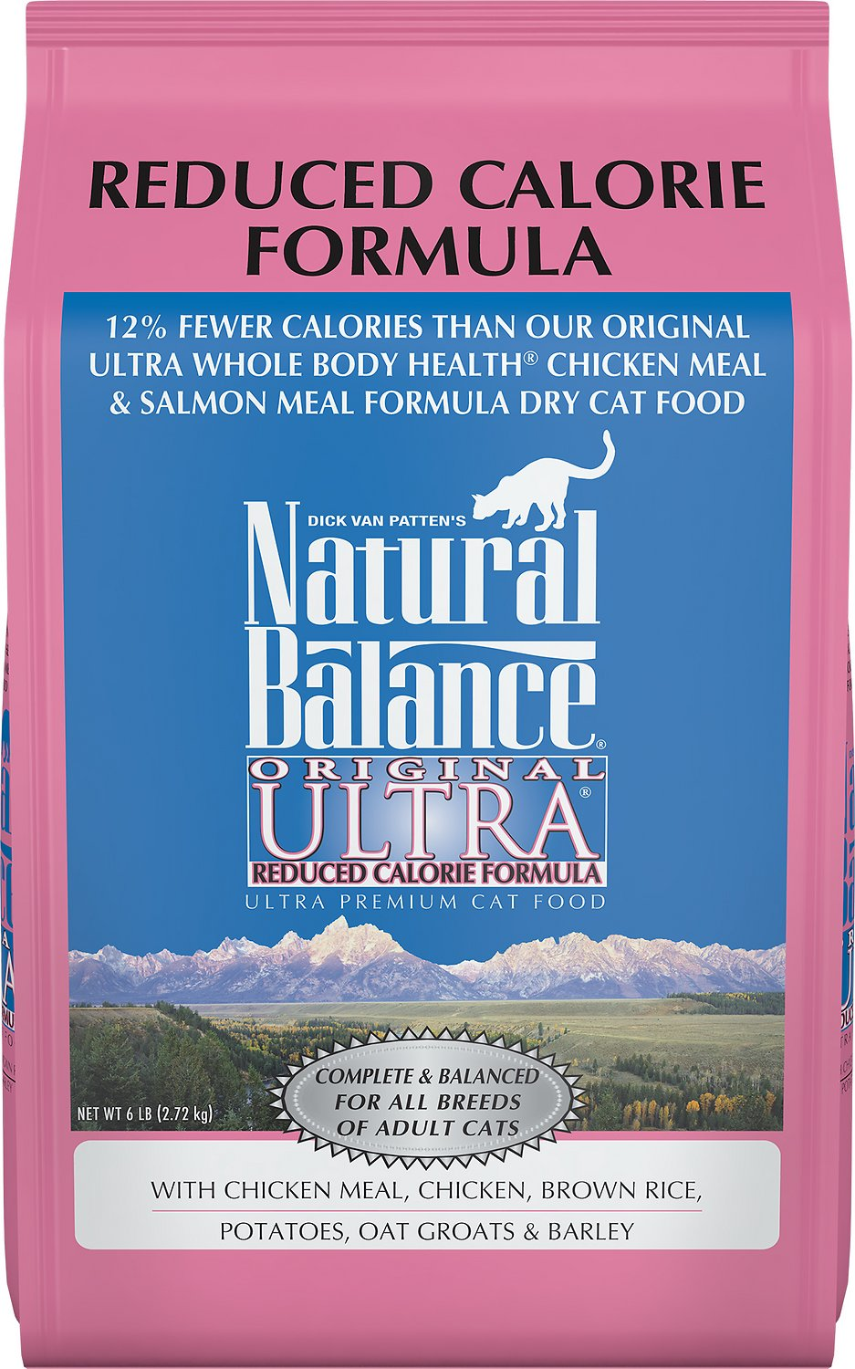 Natural Balance Original Ultra Reduced Calorie Formula Dry Cat Food, 6-lb bag - Chewy.com