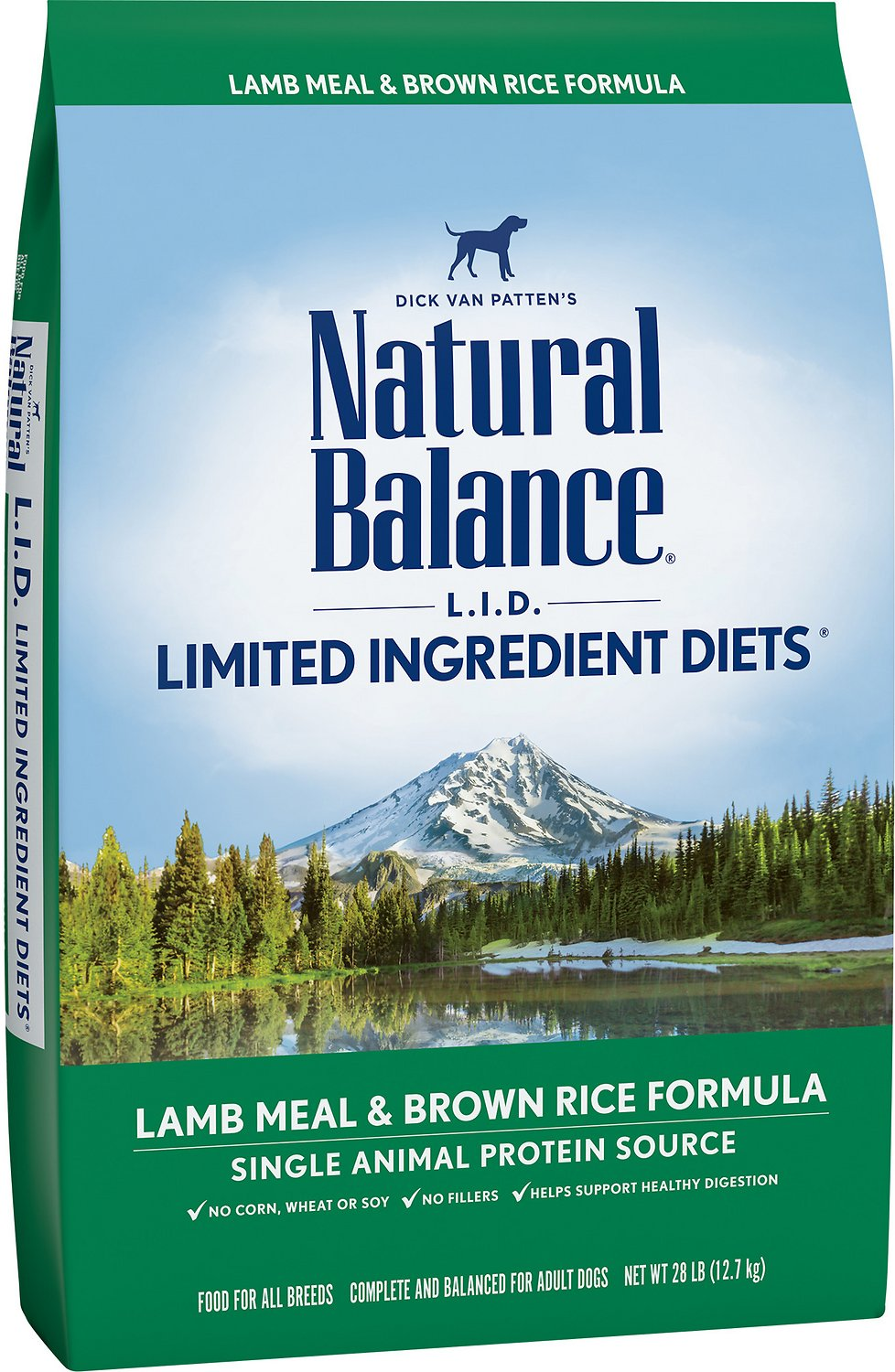 Natural Balance Dog Food Lid Lamb And Brown Rice