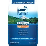 Natural Balance Original Ultra Whole Body Health Chicken, Chicken Meal & Duck Meal Formula Dry Dog Food, 5-lb bag