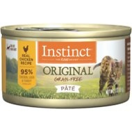 Instinct by Nature's Variety Original Grain-Free Real Chicken Recipe Natural Wet Canned Cat Food, 3-oz, case of 24