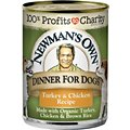 Newman's Own Turkey & Chicken Formula Canned Dog Food