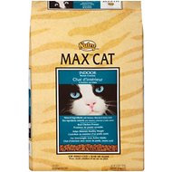 Nutro Max Indoor Weight Control Formula Dry Cat Food, 16-lb bag
