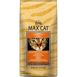 Nutro Max Adult Roasted Chicken Flavor Dry Cat Food, 3-lb bag
