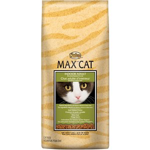 Nutro Max Indoor Adult Roasted Chicken Flavor Dry Cat Food, 6-lb bag