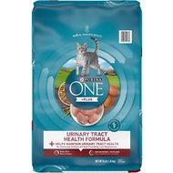 Purina ONE Urinary Tract Health Formula Adult Premium Dry Cat Food, 16-lb bag