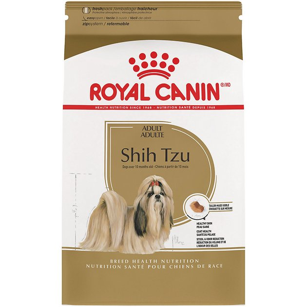 1. Royal Canin Shih Tzu Adult Dry Dog Food
